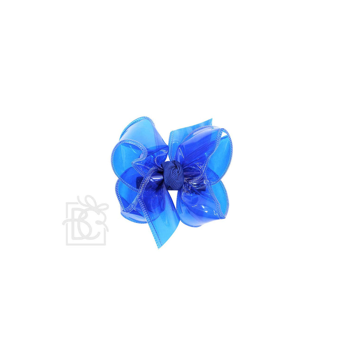 "4"" Waterproof Hair Bow on Clip 