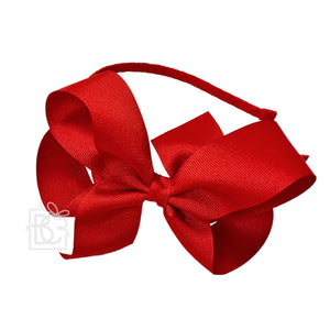 "Beyond Creations | 5.5"" Classic Grosgrain Bow Headband 