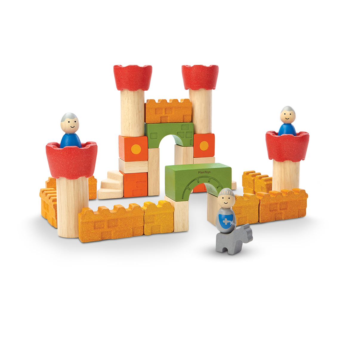 Plan Toys | Castle Blocks