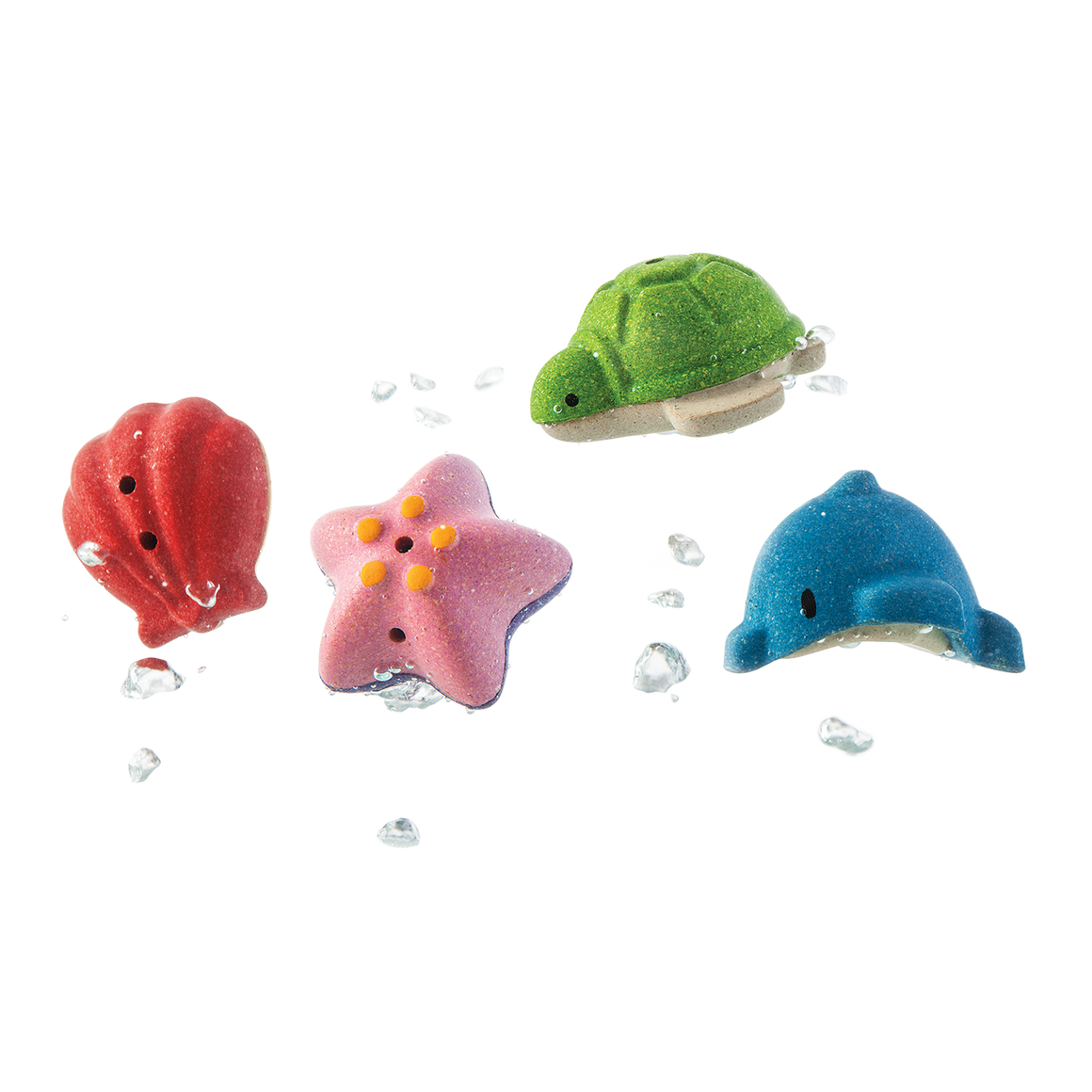 Plan Toys | Sea Life Bath Set