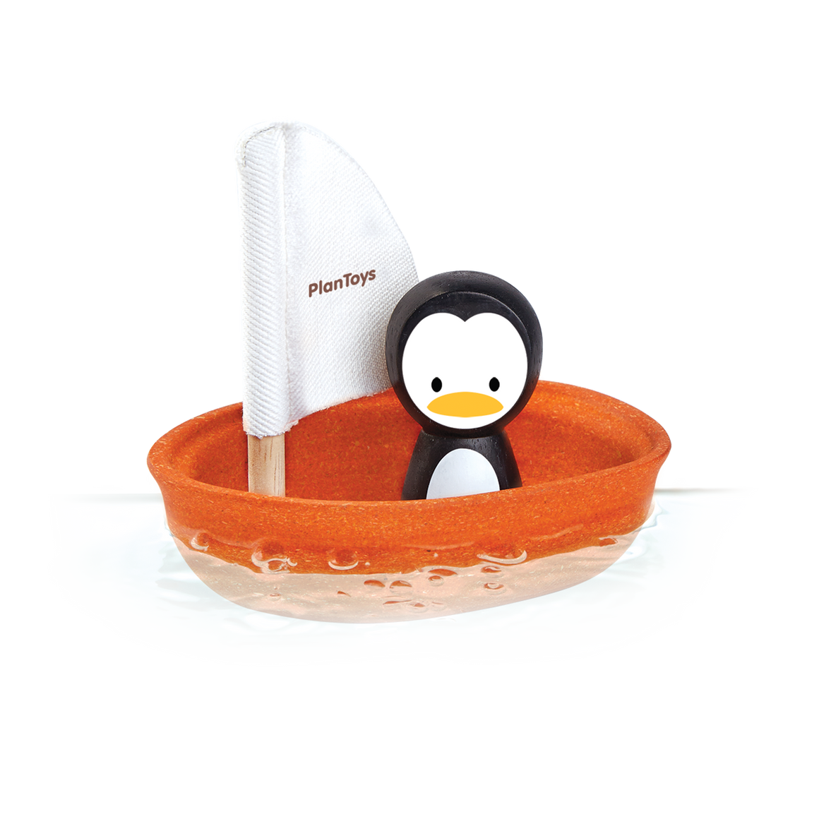 Plan Toys | Sailing Boat Penguin