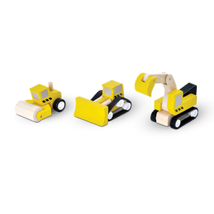 Plan Toys | Road Construction Set