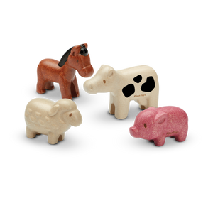 Plan Toys | Farm Animals Set