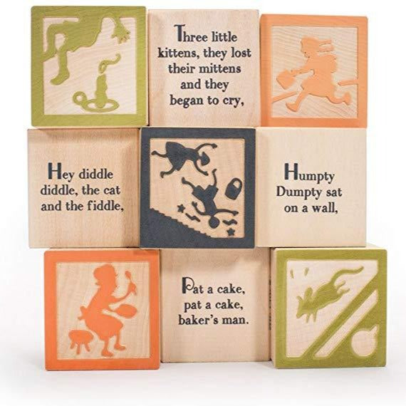 Uncle Goose | Nursery Rhyme Favorites Blocks