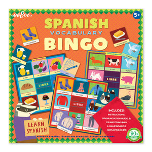 eeboo | Spanish Vocabulary Bingo
