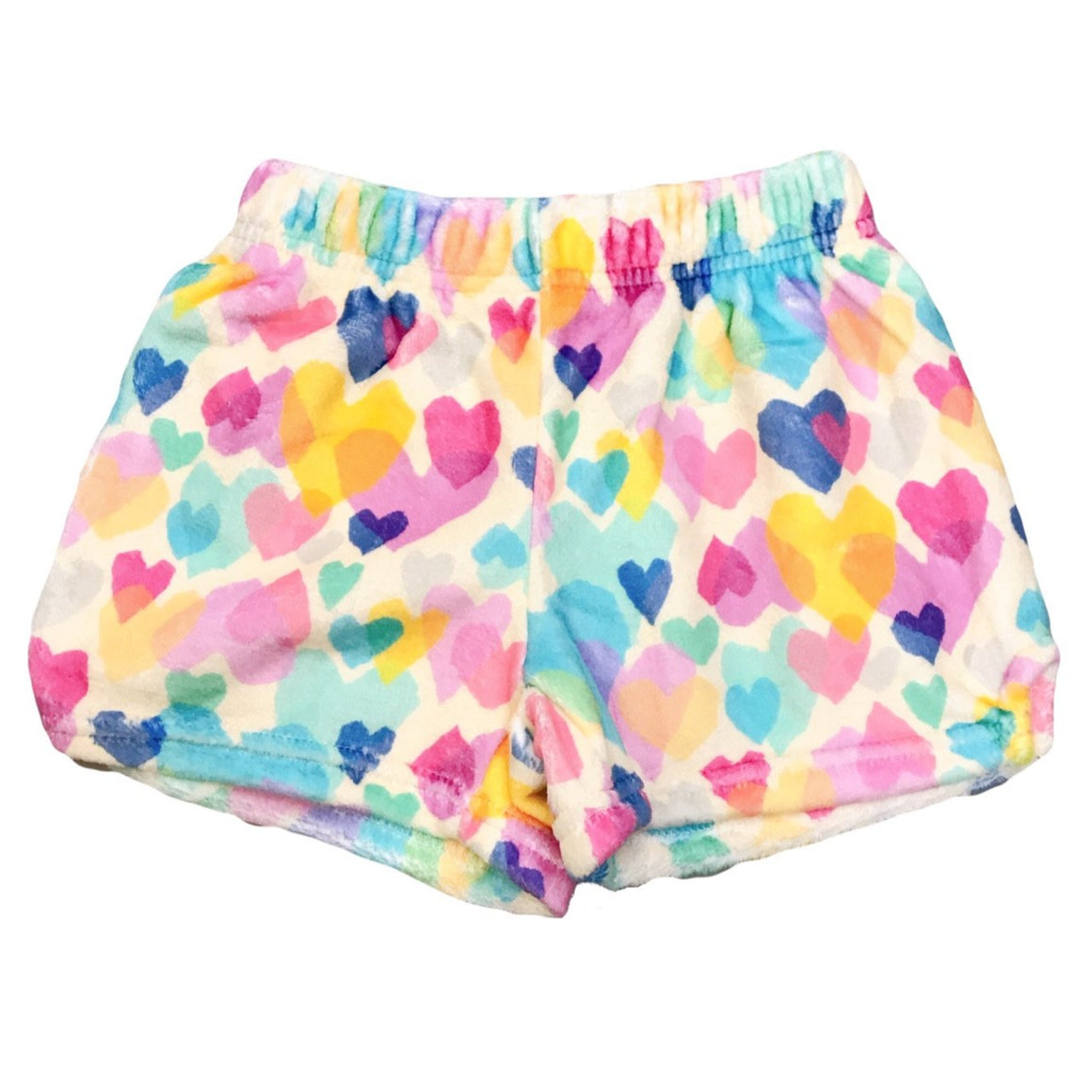 iScream | Pastel Hearts Plush Shorts
