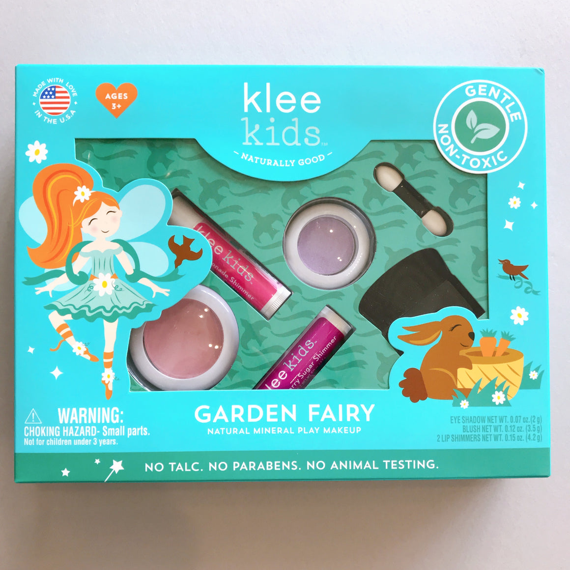 Klee Kids | Natural Mineral Play Makeup Kit | Garden Fairy