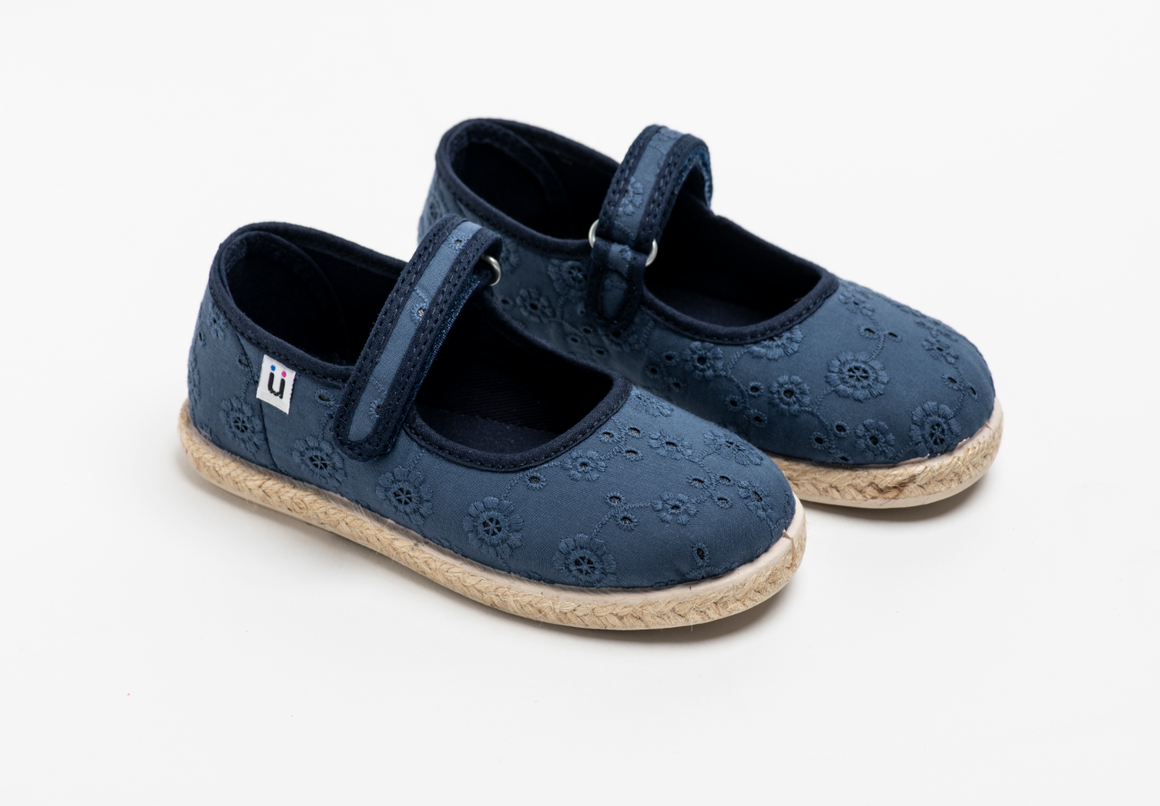 Chus | Addison Mary Jane Espadrille | Navy