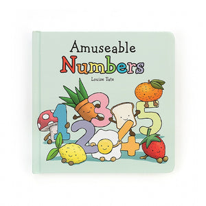Jellycat | Amuseable Numbers Book