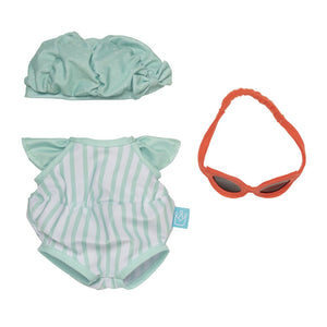 Manhattan Toy | Baby Stella Pool Party, Doll Outfit
