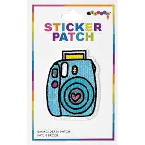 iScream | Camera Embroidered Sticker Patch
