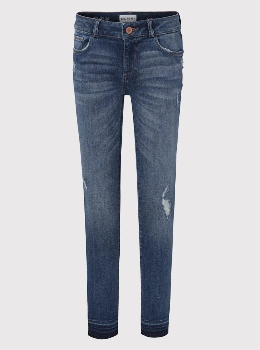DL1961 Chloe Skinny Denim Jean in Preston Wash