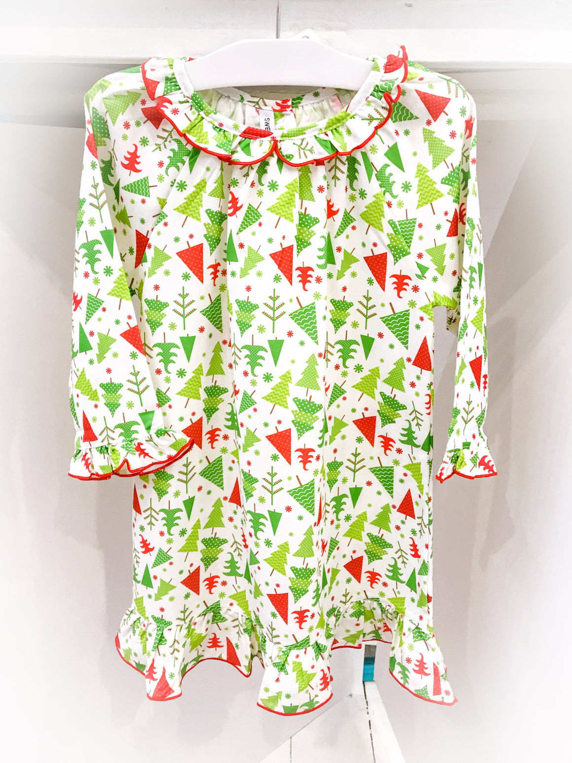 Sweet Dreams | Holiday | Christmas Tree Print Night Gown (NEW)