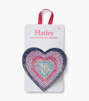 Hatley | Colorful Heart Large Hair Clip
