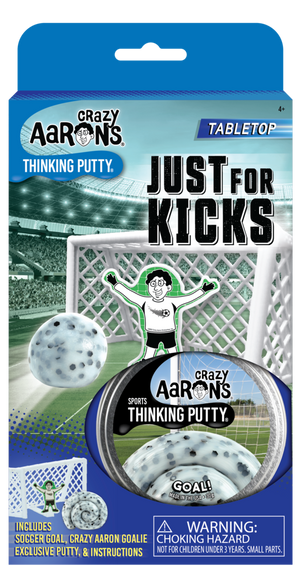 Crazy Aaron's | Just 4 Kicks Soccer Thinking Putty Game