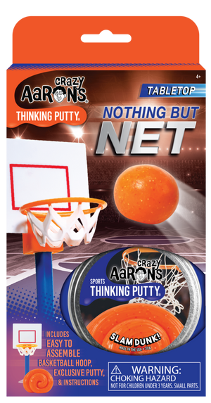 Crazy Aaron's | Nothing But Net Basketball Thinking Putty Game