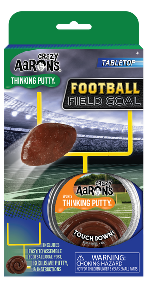 Crazy Aaron's | Football Field Goal Thinking Putty Game