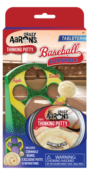 Crazy Aaron's | Baseball Cornhole Thinking Putty Game
