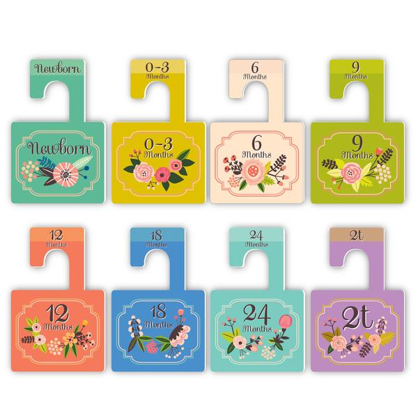"Lucy Darling ""Little Artist"" Closet Dividers"