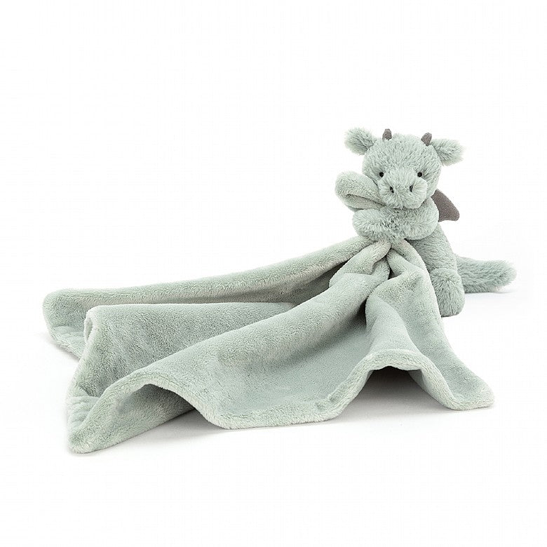 Jellycat | Bashful Dragon Soother | Lovey Blanket