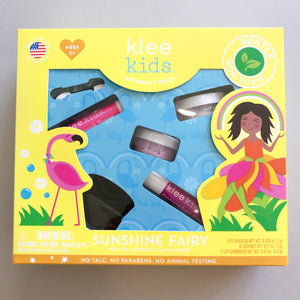 Klee Kids | Natural Mineral Play Makeup Kit | Sunshine Fairy