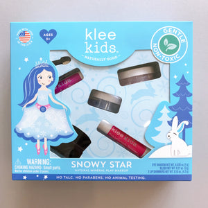 Klee Kids | Natural Mineral Play Makeup Kit | Snowy Star