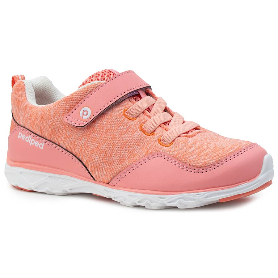 Pediped | Flex Troop Coral Athletic Sneakers