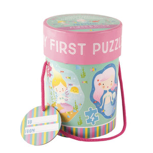 Floss & Rock | First Puzzles 3,4,6,8 | Mermaid Friends