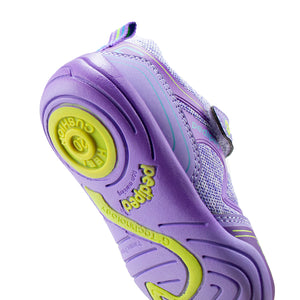Pediped | Grip 'n' Go Force Lavender Toddler Girls Sneakers