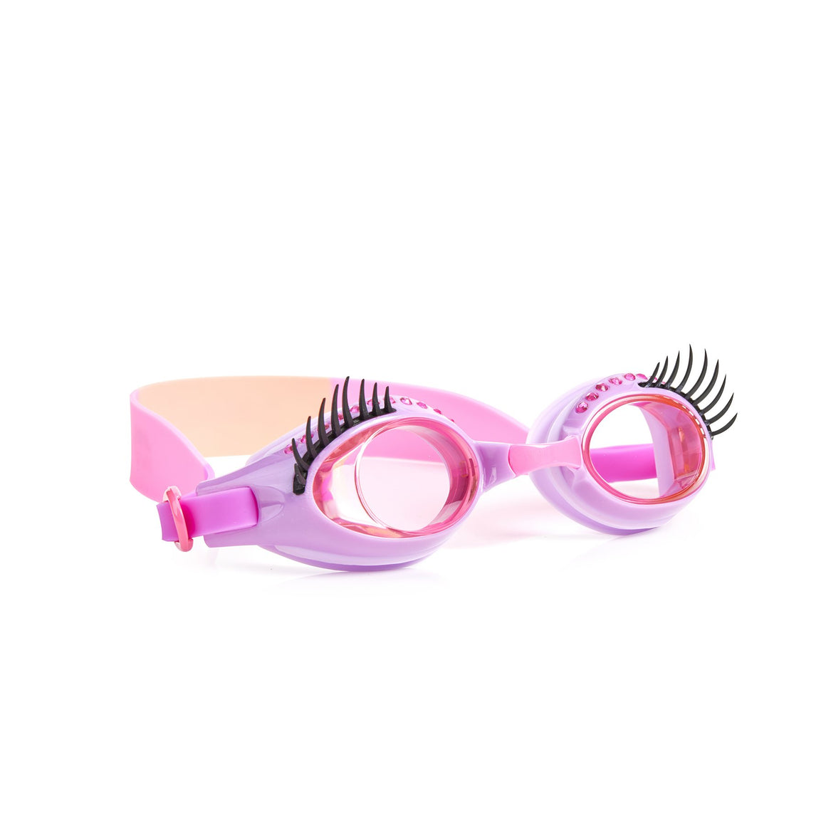 Bling2O | Girls Glam Lash Swim Goggles | Beauty Parlor Pink