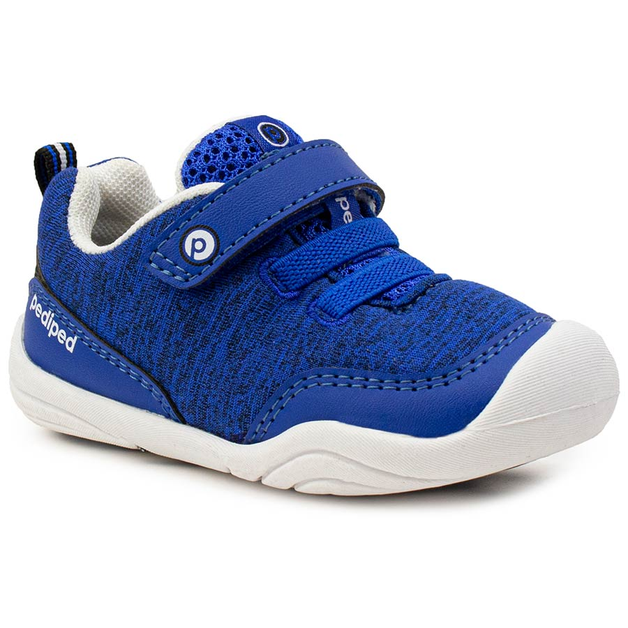 Pediped | Grip 'n' Go Troop Blue Toddler Sneakers