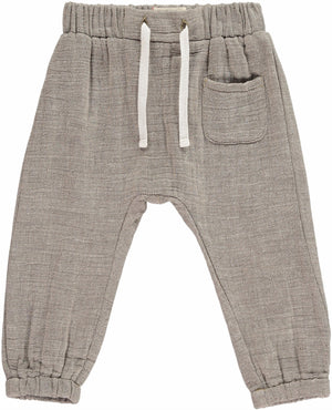 Me and Henry | Bosun Lightweight Gauze Pants | Beige