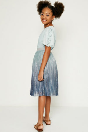 Hayden Girls | Pleated Ombre Skirt