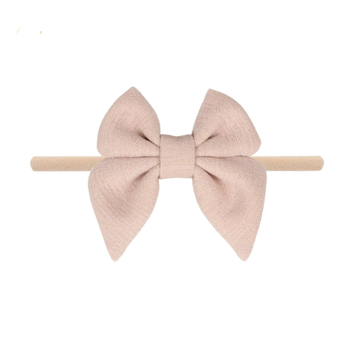 Emerson and Friends | Jersey Bow Baby Headband | Cream