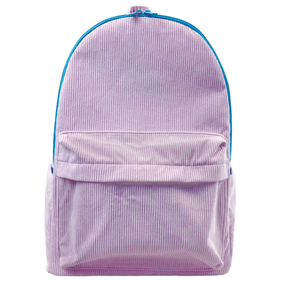 Iscream | Lavender Corduroy Backpack