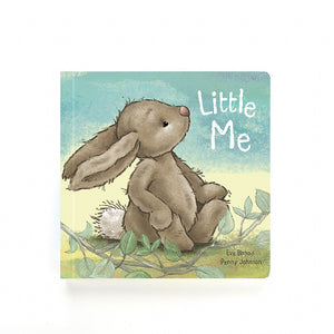 Little Me, board book for babies and toddlers from Jellycat.