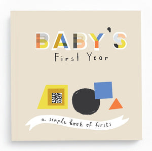 Lucy Darling | Baby's First Year Little Kaleidoscope Memory Book