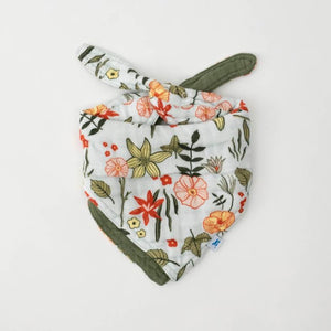 Little Unicorn | Cotton Muslin Reversible Bandana Bib | Primrose Patch