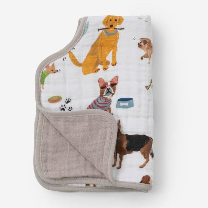 Little Unicorn | Cotton Muslin Burp Cloth | Woof