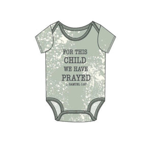 Rainbow and Rocket | For This Child Seafoam Onesie