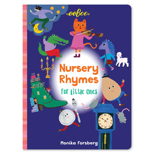 eeboo | Nursery Rhymes for Little Ones Board Book
