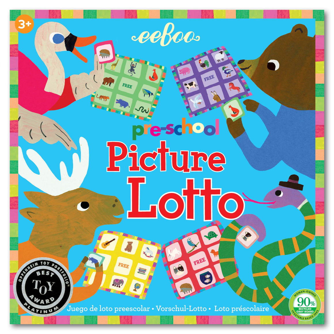 eeboo | Pre-School Picture Lotto