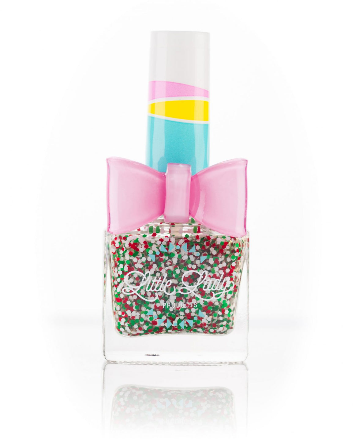 Little Lady Glitter Nail Polish | Peppermint Sprinkles
