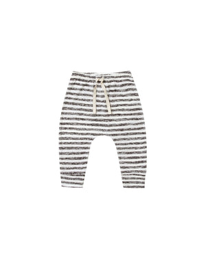 Rylee and Cru Snowbird Dane Striped Pant in Ivory | Black