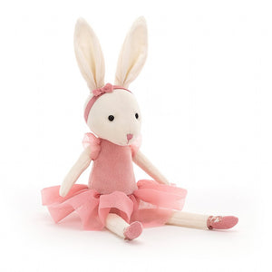 Jellycat | Pirouette Bunny Rose | OS 11""