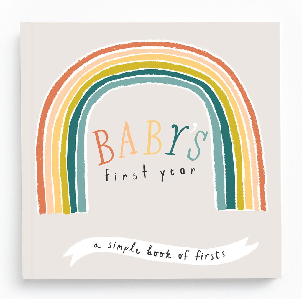 "Lucy Darling Baby's First Year ""Little Rainbow"" Memory Book"