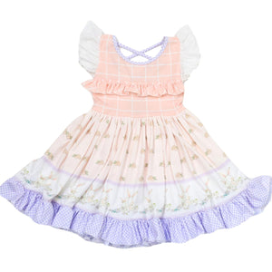 Be Girl Clothing | Bunny Winks | Randall Ruffle Dress - PREORDER