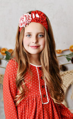 (PREORDER) Swoon Baby | Laurel Dot Headband SB5HB1