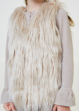 Hayden Girls | Faux Fur Vest