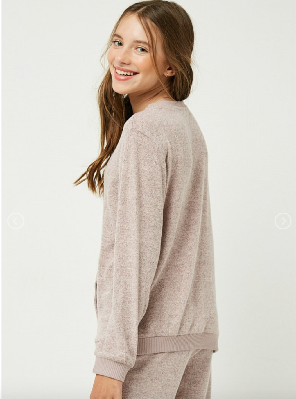 Hayden Girls | Soft Marled Sweatshirt
